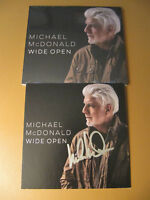 Autographed Michael McDonald Wide Open Signed CD Booklet
