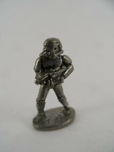 Vintage Pewter Stormtrooper Token Monopoly Star Wars Classic Trilogy Edition