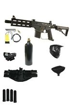 Tippmann Project Salvo Paintball Gun M-LDP Super Pack New US Army Sniper Stock
