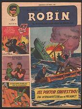 LA REVISTA DE ROBIN # 59 1952 - RARE Argentine Printed COMIC (Robin and Batman)
