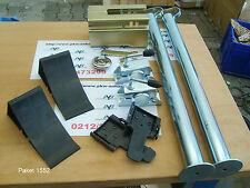 AVB Paket Anhänger Stützen  700 mm, ALBE Safety-Box , Keile schwarz #15520# OS
