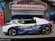 2000 SUPER TUNERS Design MX48 TURBO☆White/Blue☆Blueye Racing 6☆LOOSE☆Hot Wheels