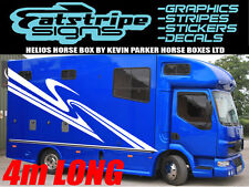4m HORSEBOX TRAILER VAN GRAPHICS STICKERS STRIPES DECALS HORSE BOX TRANSPORTER