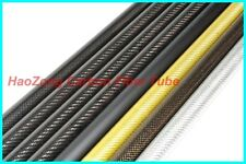 2Pcs 14mm*18mm*500mm 3k Carbon fiber tube with 100% full carbon Hexacopter arm