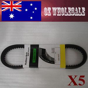 5X Drive Belt 669 18 30 GY6 50CC 110CC SHORT CASE CVT ATV Moped Scooter Bike