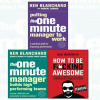 Putting the One Minute,How To Be F*cking 3 Books Collection Pack Set Builds High