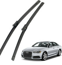 New Set OEM Front Windshield Wiper Blades 4G1998002A For 2012-2019 Audi A6 S6 C7