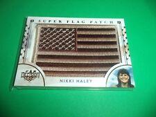 DECISION 2016 SERIES 2 CAMO SUPER FLAG PATCH NIKKI HALEY SF64