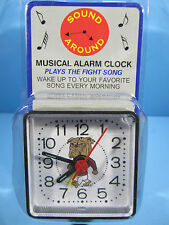 *NIP* NCAA MISSISSIPPI BULLDOGS MINI TRAVEL ALARM CLOCK OFFICIALLY LICENSED
