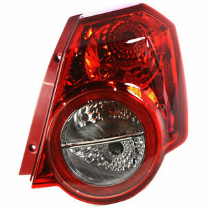 TAIL LIGHT ASSEMBLY RH SIDE FITS CHEVROLET AVEO 5 PONTIAC G3 WAVE G3 GM2801246