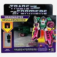 Transformers Headmaster SKULLCRUNCHER G1 Reissue Walmart Exclusive Action Figure