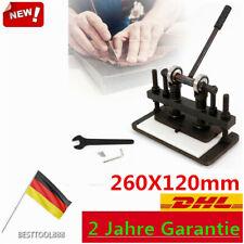 260X120mm Leder Stanzmaschine manuelle Lederschneide sterben Schneiden Prägen