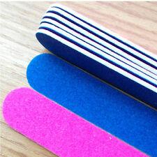 100x 2-Side Buffing Sanding Files Nail Art Manicure Nail Buffer Beauty Tool
