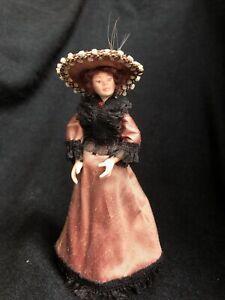 Vintage Dolls House 1/12 Artisan Porcelain Doll