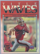 2018 Elite Title Waves #TW-10 Steve Young 49ers