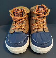 OshKosh B'Gosh Boys Duck Boot Bandit-B, SZ 5C brown & blue