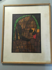 Dessin Jean Paul Henry Musee Creation Franche 1987 Art Brut Outsider Dégénèré