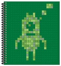 "Pixel Art Book by ""Make Believe Ideas"" w 103 Tiles and 30 Images to Create"