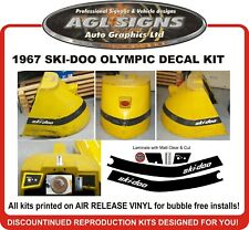 1967 SKI-DOO Olympic reproduction decal Kit