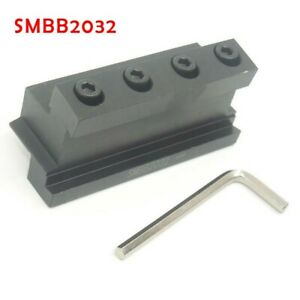 With T-wrench Cutting Tool Holder SMBB2032 Accessories Black Cut Off Blade