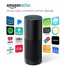 New Amazon Echo w/ Alexa Voice Control Personal Assistant & Bluetooth Speaker