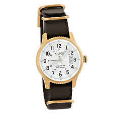 Filson by Shinola Mackinaw Field Men's Watch Stainless Made in USA F0120004451
