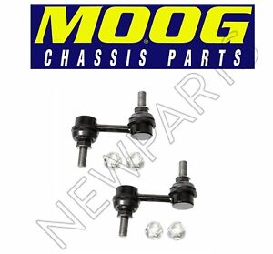 Pair Set of 2 Front Stabilizer Sway Bar End Links Moog For Nissan Infiniti QX56