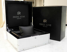 PIERRE KUNZ BIG ALLUMINIUM WATCH INNER/OUTER WATCH BOX: 200mm x 200mm x 100mm