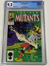 NEW MUTANTS #52 CGC 9.2 Marvel Comics 6/87