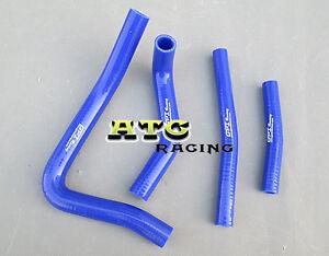 BLUE silicone radiator hose FOR Suzuki RM250 RM 250 1996-2000 1997 1998 1999