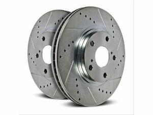 For 2010-2013 Kia Forte Koup Brake Rotor Set Rear Power Stop 41333XP 2011 2012