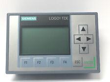 Siemens LOGO TDE Textdisplay 6ED1 055-4MH08-0BA0 12/24V Generation 8 NEU OVP