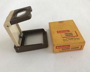 Vintage KODAK Kodaslide Pocket Viewer, Boxed, Film/Camera Collectors. FREE POST!