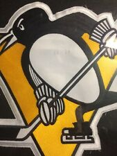 """Pittsburgh Penguins Hockey Jersey  11""""inch Patch"""