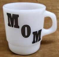 Oven Proof Galaxy Greatest MOM Coffee Cup Mug Milk Glass D Handle Mother's Gift