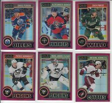 14/15 OPC Platinum Edmonton Oilers David Perron Red Prism card #79 Ltd #30/135