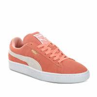 Puma Ladies Suede Classic Trainers Orange 35546233 RRP £75
