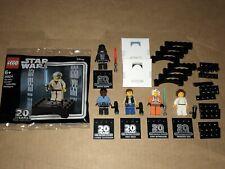 Lego Star Wars 20th Anniversary Minifigs Obi Leia Solo Luke Vader Lando 30624