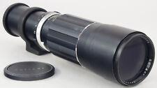 SOLIGOR M42 400 mm 5.6 - Preset T-mount -