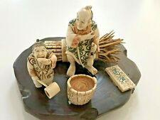 Antique Asian Bone Crafted Seen