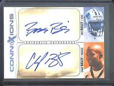 2004 Fleer EX Connections Auto #CK-BB/CB Boss and Champ Bailey No 11 of 50