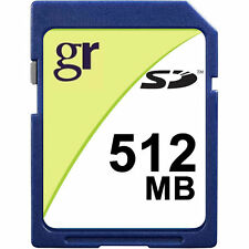 Wholesale Lot of 5 x Standard 512MB SD Secure Digital Memory Card 5 Pack