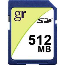 Wholesale Lot of 5 x Standard 512MB SD Secure Digital Memory Card 5 Pack