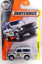 Matchbox Land Rover 90 MOC Classic 4x4 Silver Landrover NEW 4WD