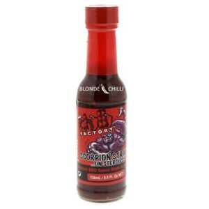 THE CHILLI FACTORY Scorpion Strike on Steroids!!  EXTREMELY HOT BBQ CHILLI SAUCE