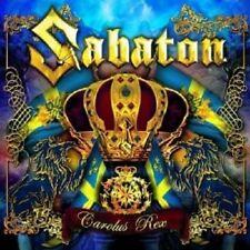 SABATON - CAROLUS REX  CD +++++11 TITRES POWER METAL++++++++++NEUF