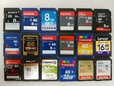SD Memory Cards 8GB 16GB 32GB Formatted FAT32 SanDisk ++