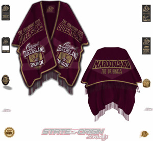 State of Origin - Maroons Poncho HG49 QLD