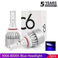 9006 HB4 LED Headlight Bulbs Fog light Low Beam 72W 8000Lm 8000k ICE Blue