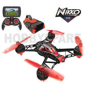 NEW NIKKO RACE VISION RC FPV RACING DRONE DRL QUADCOPTER w 5.8Ghz FPV CAMERA RTF
